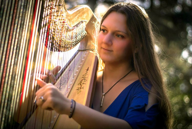 Home for the Holidays with Harpist Chanah Ambuter